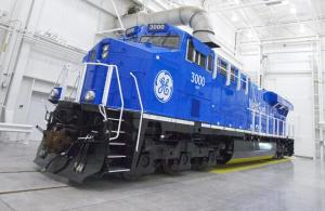 LNG locomotive GE