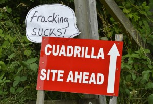 Sussex fracking protest