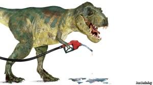 Peak oil demand dinosaur