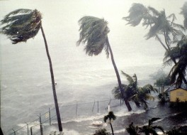 Hurricane Hugo Slams Into Puerto Rico